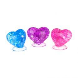 3D Crystal Puzzle Сердце