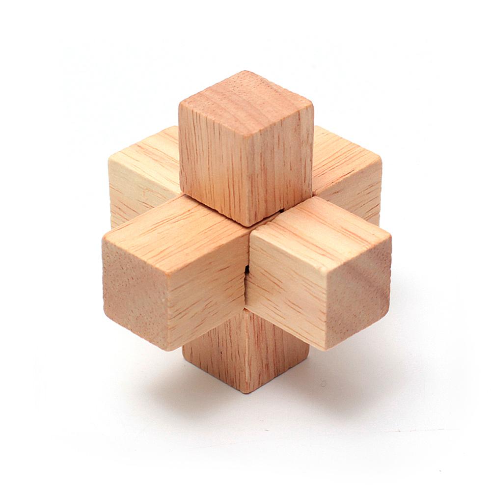Деревянная головоломка Тройной крест
