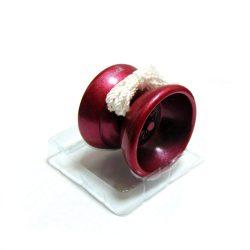 Йойо бордовое алюминиевое