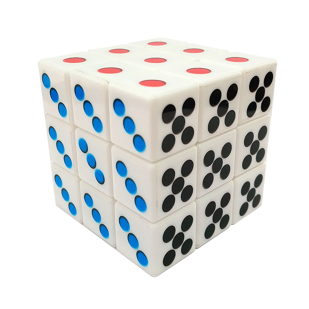 Кубик Рубика 3x3 Домино