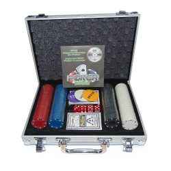 Набор для покера Poker Stars в алюминиевом кейсе