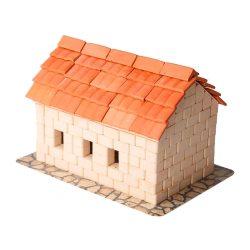 Керамический конструктор Дом с черепицей