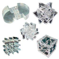 Набор из пяти 3D-головоломок