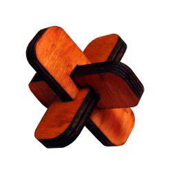 3Dголоволомка деревянная Крест ОСС