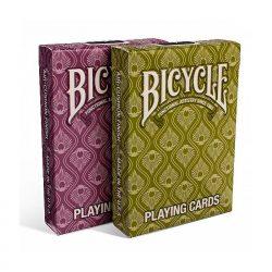 Карты покерные Bicycle Peacock (Павлин)