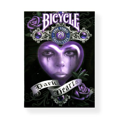 Bicycle Dark Hearts Anne Stokes