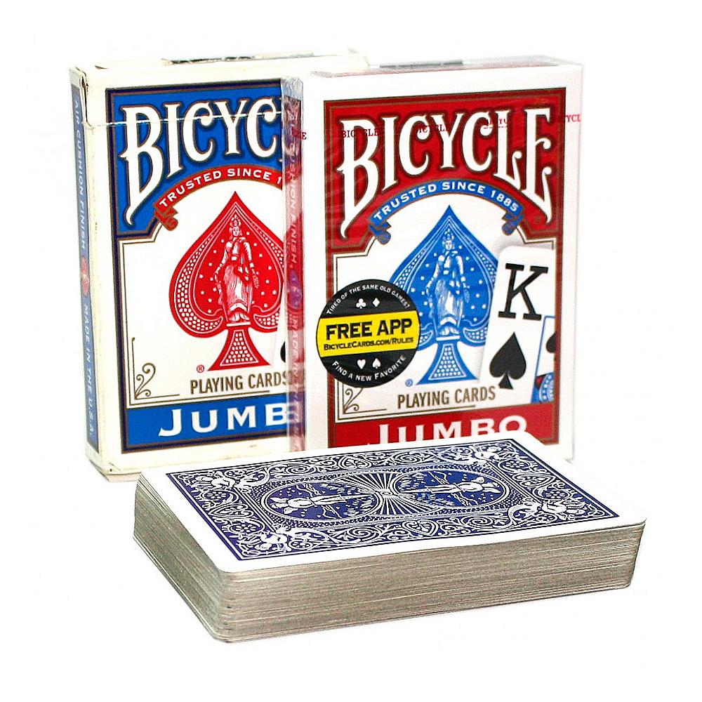Покерные карты Bicycle Jumbo Index