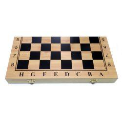 Шахматы, шашки, нарды 38 см (Набор 3-в-1)
