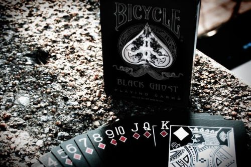 Карты Bicycle Ghost Black