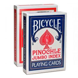 Карты Bicycle Pinochle Jumbo Index
