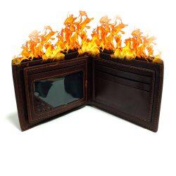 Фокус Горящий кошелек Flaming Wallet