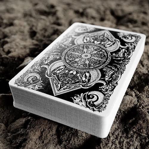 Покерные карты Bicycle Asura Black Edition
