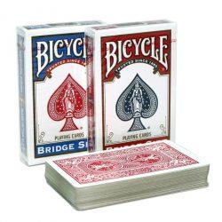 Карты для фокусов и покера Bicycle Bridge Size