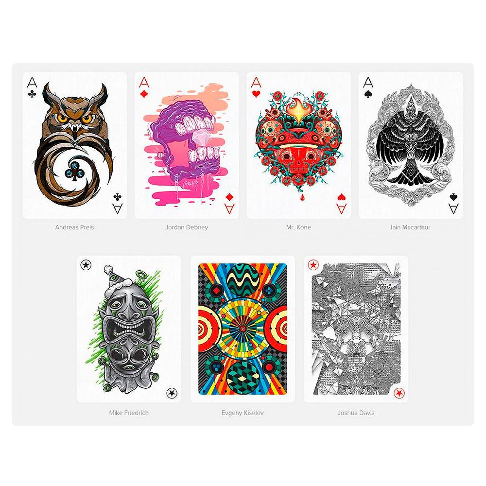 Дизайнерские карты Playing Arts Edition One