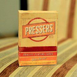 Коллекционные карты Pressers (Ellusionist)