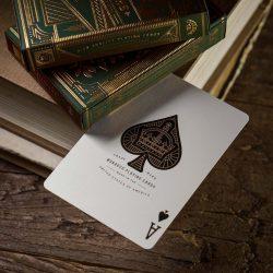 Дизайнерские карты Monarch Green (Theory11)