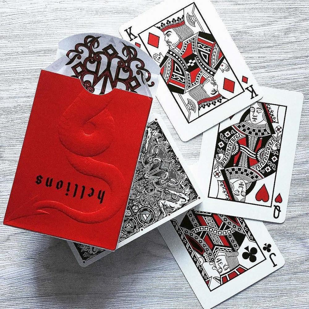 Покерные карты The Madisson Hellions Ellusionist
