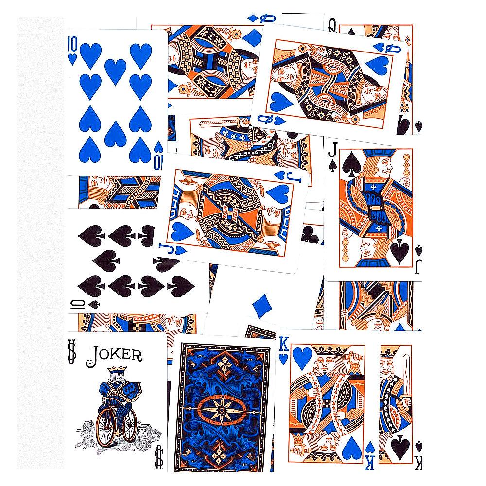 Покерные карты Bicycle Dragon Back Blue