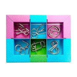 Набор из 6 металлических головоломок