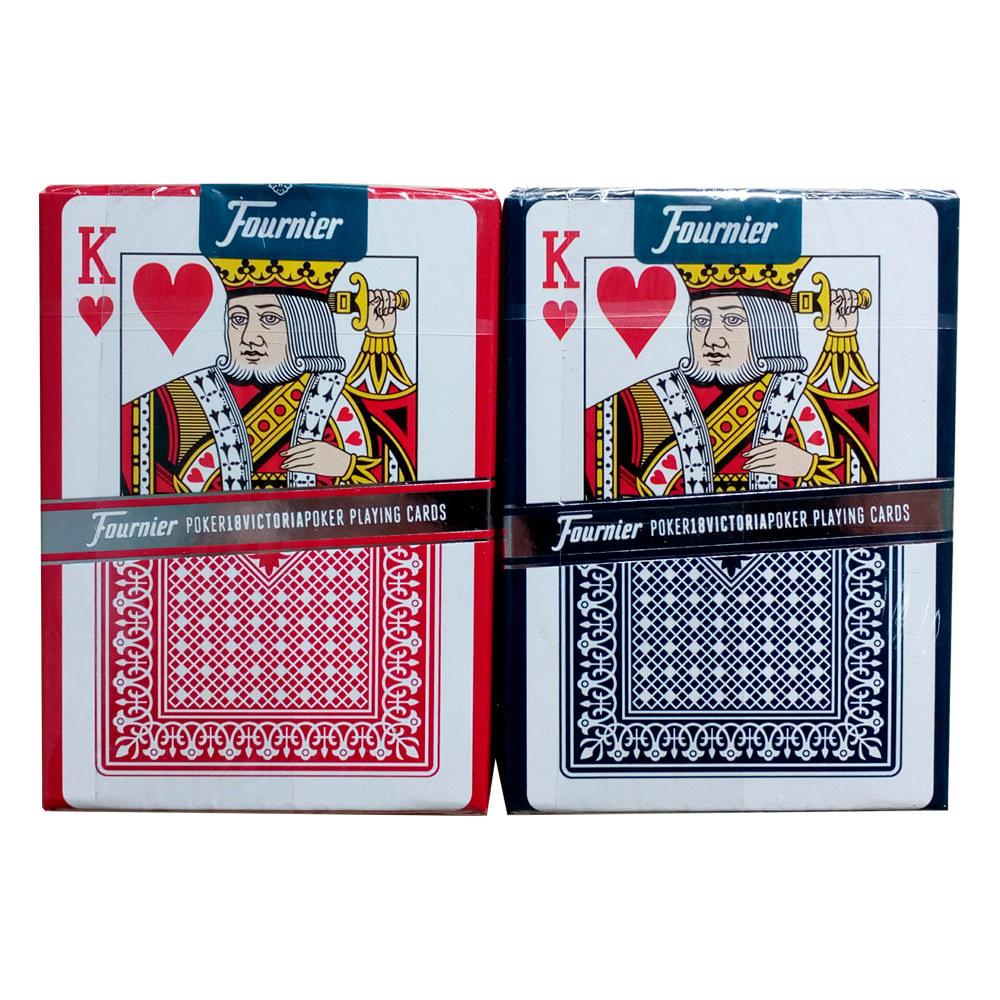 Покерные карты Fournier 18 Victoria