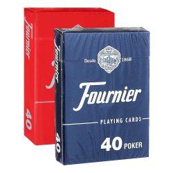 Покерные карты Fournier 40 (Monkey Back)