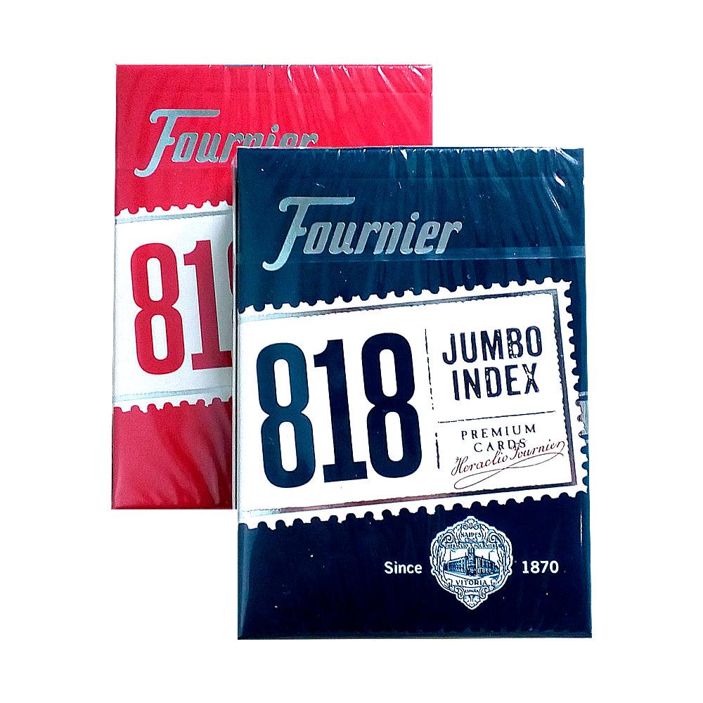 Покерные карты Fournier 818 Jumbo Index Premium