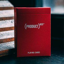 Покерные карты Product Red theory11