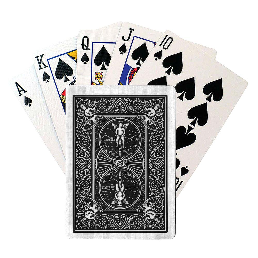 Покерные карты Bicycle Rider Back Чёрные