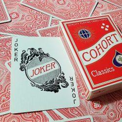 Покерные карты Cohorts Red
