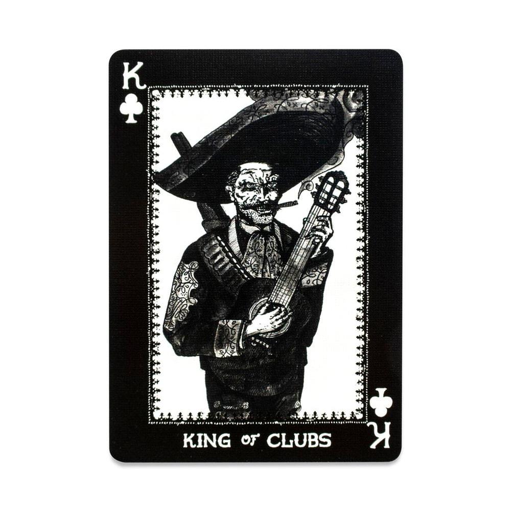 Покерные карты Disparos Tequila