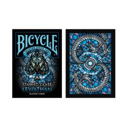 Покерные карты Bicycle Stained Glass Leviathan