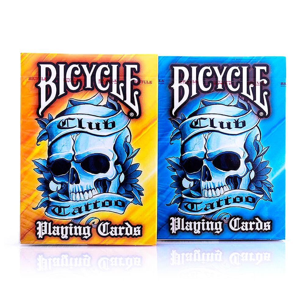 Покерные карты Bicycle Club Tattoo