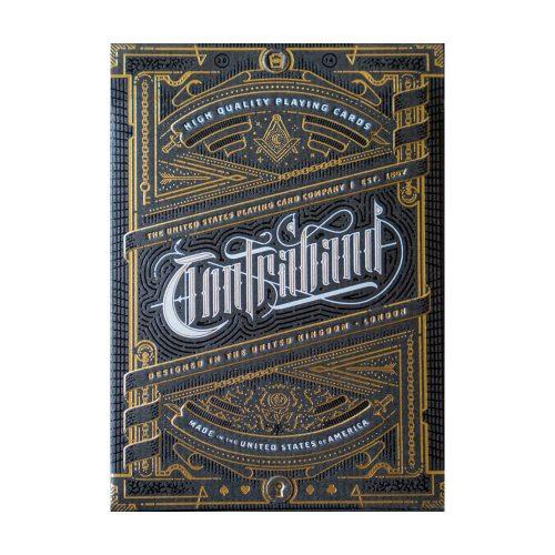 Покерные карты Contraband Theory11