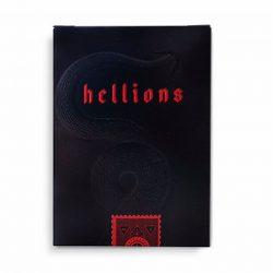 Покерные карты The Madison Hellions Black (Ellusionist)