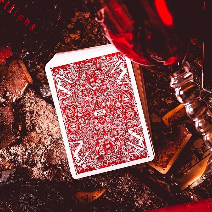 Покерные карты The Madison Hellions Black Ellusionist