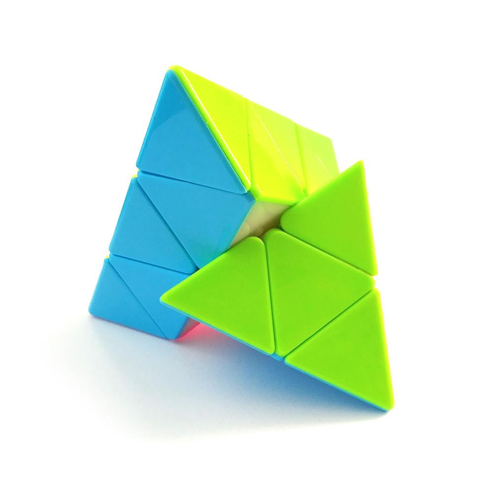 Пирамидка 3x3 Цветная для начинающих