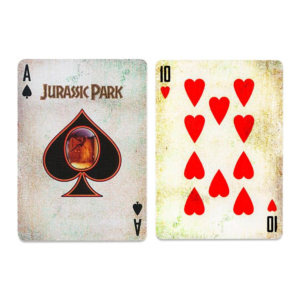 Покерные карты Jurassic Park