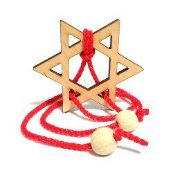Головоломка деревянная Звезда Давида