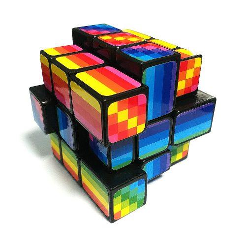 Кубик Рубика 3x3 FanXin Unequal Зеркальный