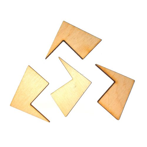 Головоломка геометрическая Крест и квадрат