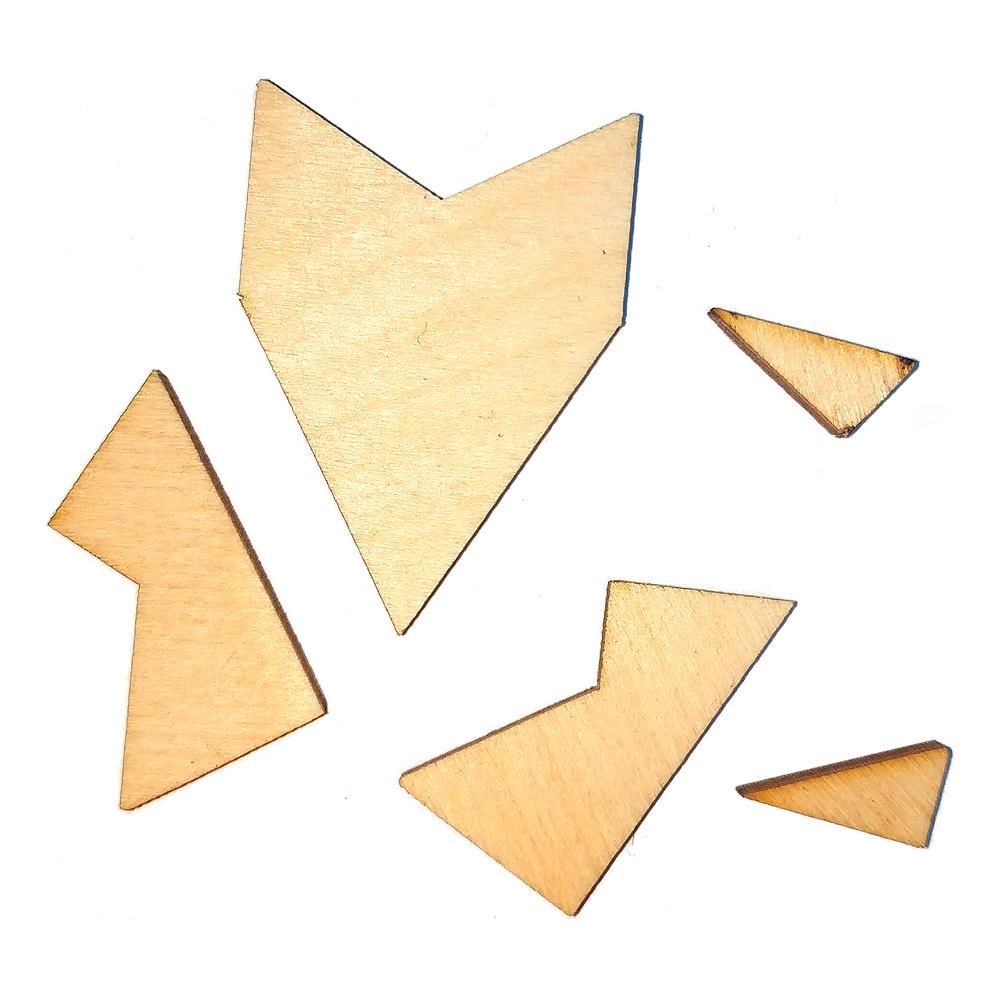 Головоломка геометрическая Звезда